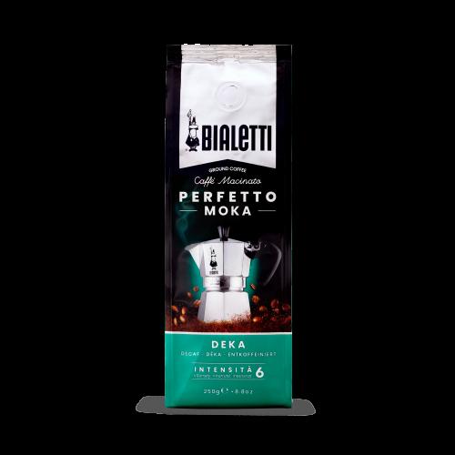 BIALETTI 096080320 PERFETTO MOKA DECAF Καφές Espresso Ντεκαφεινέ 250gr - Made in Italy 0024621