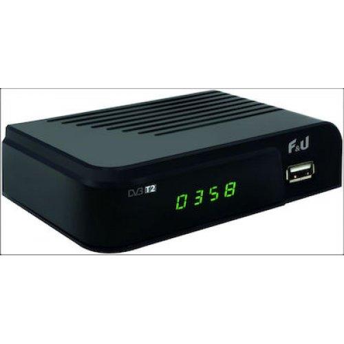 F&U MPF3473HU Δέκτης DVD-T2 H265 0025268