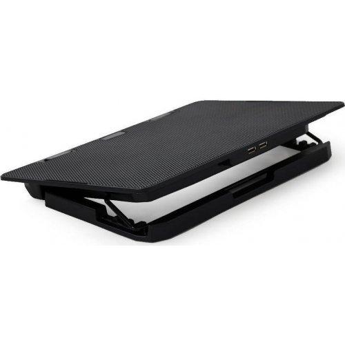 GEMIRD NBS-2F15-02 Notebook Cooler 15.6'' Dual Fan Led 0025395