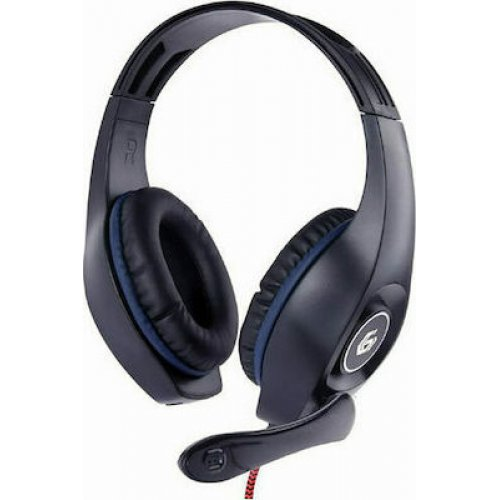 GEMIBIRD GHS-05-B Gembird Gaming Headset With Volume Control PC/PS4 Blue-Black 0025612