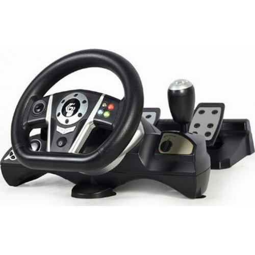GEMBIRD STR-M-01 Gembird Vibration Racing Wheel With Pedals PC/PS3/PS4/Switch 0025614