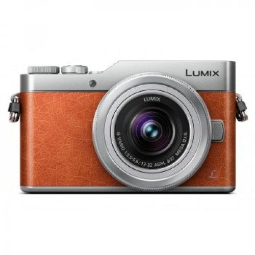 PANASONIC DC-GX880K Ψηφιακή Κάμερα Lumix Kit Πορτοκαλί /Ασημί + H-FS 12-32 mm 0025739
