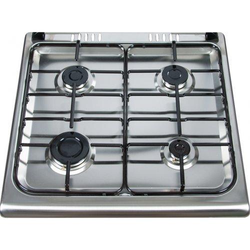 THERMOGATZ TG-2010-IX (FS6402GPZH) Κουζίνα Αερίου με Εστίες Υγραερίου και Φυσικού Αερίου Λευκή 0025779