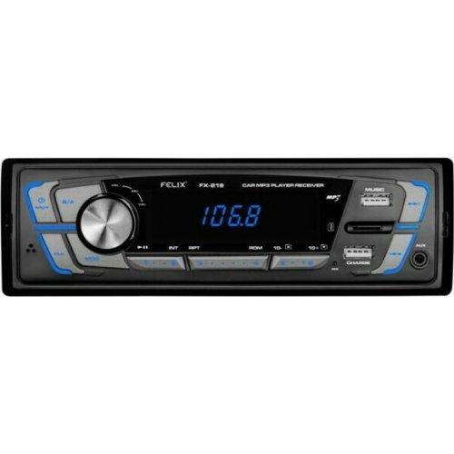 FELIX FX-218 Ράδιο Αυτοκινήτου USB/SD LED Οθόνη Ισχύς Εισόδου 2Χ25W 0025871