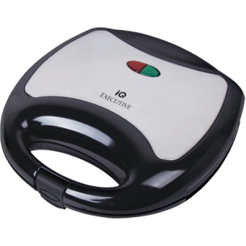 IQ ST-646 Τοστιέρα - Σαντουϊτσιέρα 750W Μαύρη/Ασημί 0025915