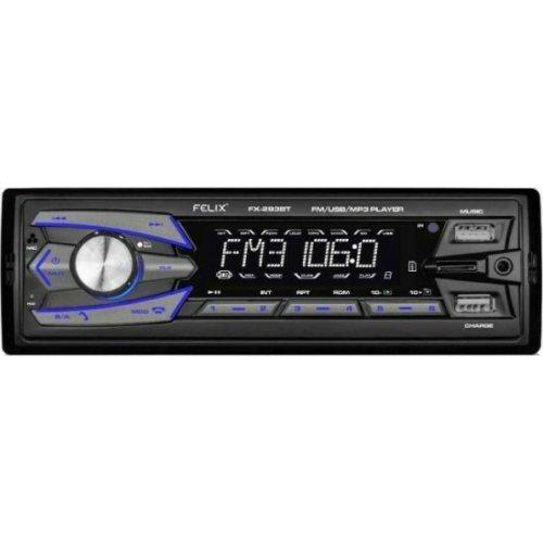FELIX FX-293BT Ράδιο Αυτοκινήτου With Dual Usb Charger / Player 0026003