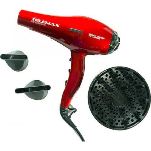 TELEMAX FK-8813 Σεσουάρ μαλλιών 2200W Κόκκινο 0026171