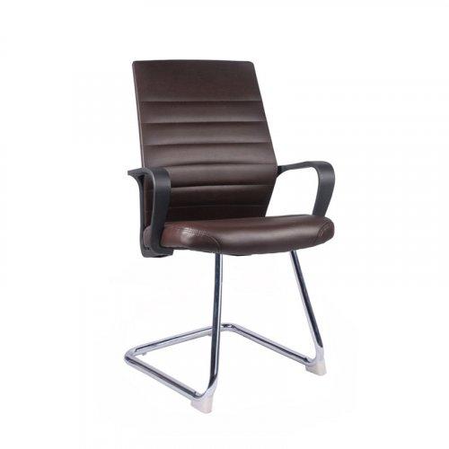 FYLLIANA 093-92-129 Καρέκλα Επισκέπτη 5568V Καφέ 0026173