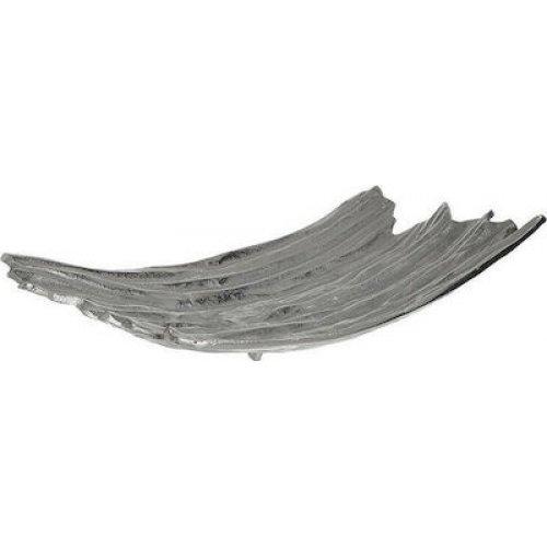 INART 3-70-653-0014 Πιατέλα Αλουμινίου Ασημί 43χ27χ10 0026380
