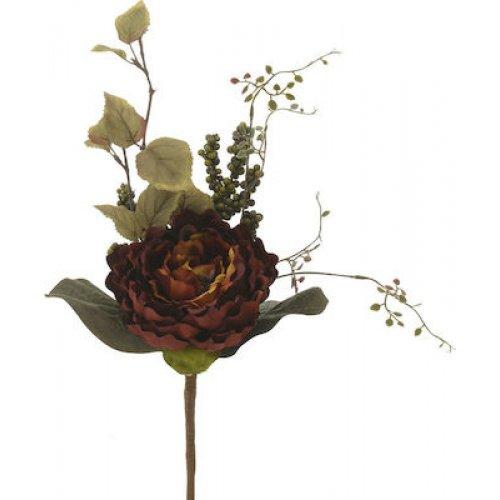 ΙΝΑΡΤ 3-85-330-0008 Λουλούδι/Μπουκέτο Υφασμ.Λευκό 0026384