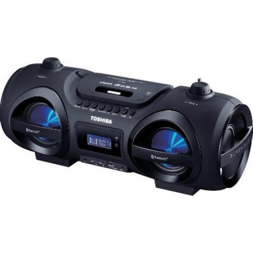 TOSHIBA TY-CWU500 AUDIO PORTABLE CD/MP3/USB/SD BLUETOOTH BOOMBOX BLACK 0026472