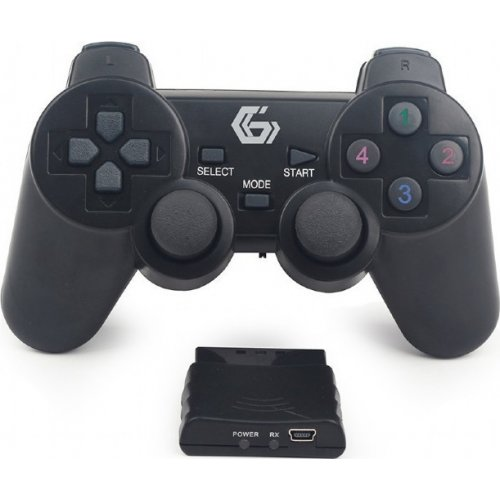 GEMBIRD JPD-WDV-01 Wireless Dual Vibration Gamepad PS2/ PS3 / PC 0026586