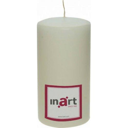 INART 3-80-474-0047  Κερί Παραφίνης Εκρού Μ:9 Π:9 Υ:18 0026612