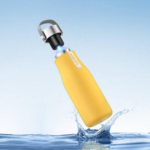 Philips AWP2787YL/10 Μπουκάλι Νερού Ενυδάτωσης απο Ανοξείδωτο Ατσάλι (GoZero) 355ml 0026614