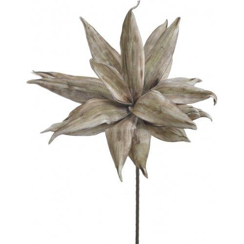 INART 3-85-246-0203 Κλαδί - Λουλούδι Καφέ/ Χρυσό Υ105εκ. 0026798