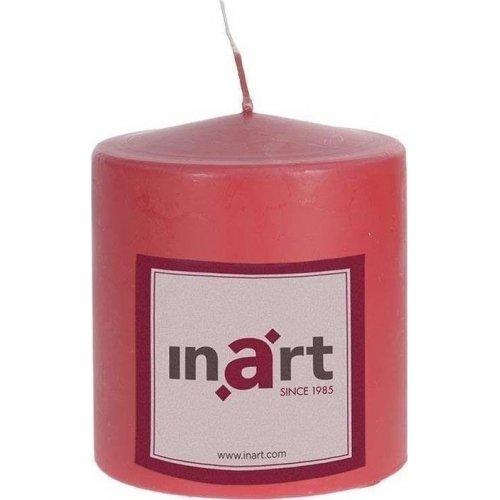INART 3-80-474-0057 Κερί Παραφίνης Κόκκινο 9χ10 0026816
