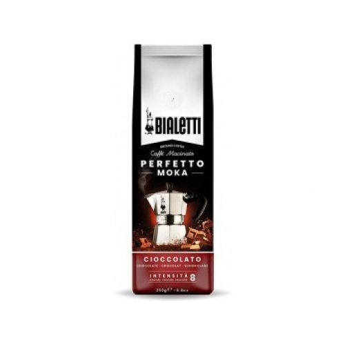 BIALETTI 096080324 PERFETTO MOKA CIOCCOLATO Καφές Espresso με Άρωμα Σοκολάτας 250gr (Made in Italy) 0026921