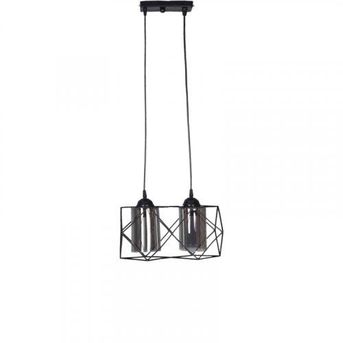 FYLLIANA 835-00-127 Φωτιστικό Μεταλλικό Οροφής 2Φωτό Μακρόστενη 0026984