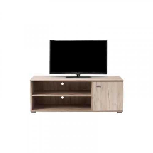 FYLLIANA 11009046 Έπιπλο Tv Amos TV2P Grey Oak 120x42x43,5 0027195