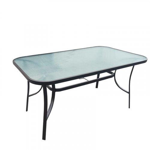 FYLLIANA 378-00-016 Τραπέζι Εξοχής Γκρί 150χ90 0027558