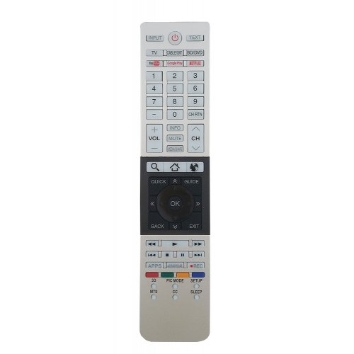 OEM KAL L1328 Τηλεχειριστήριο Συμβατό με Τηλεοράσεις Toshiba 0027588