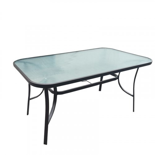 FYLLIANA 378-00-014 Τραπέζι Εξοχής Steel Γκρί 120χ70χ70 0027648