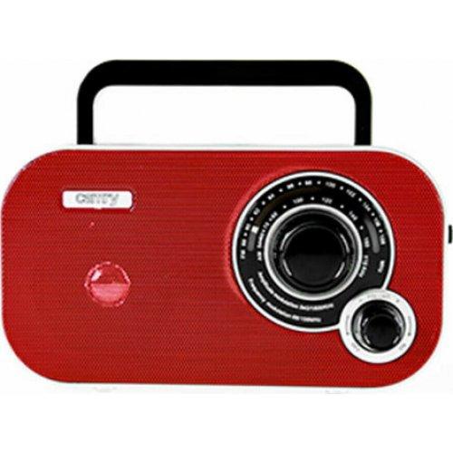 CAMRY CR1140R Portable Radio Αναλογικό Φορητό Ραδιόφωνο Κόκκινο 0027661