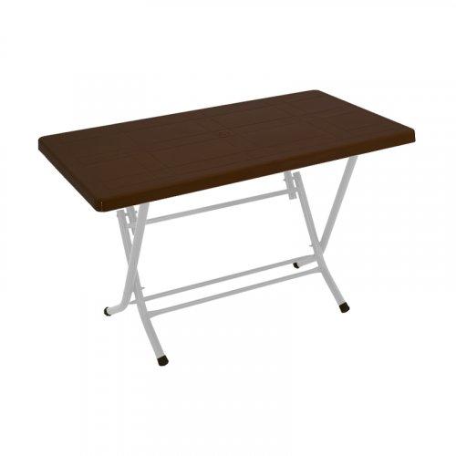 FYLLIANA 875-121-018  Τραπέζι Αναδιπλούμενο  Sebastian Καφέ 120χ70χ74 0027671