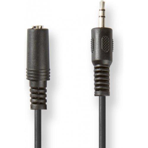 NEDIS CAGT22050BK20 Cable 3.5mm male - 3.5mm female Μαύρο 2.0m 0027991