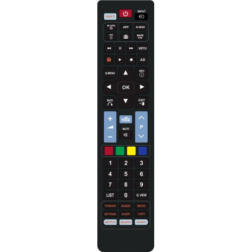 POWERTECH PT-830 Τηλεχειριστήριο για τηλεοράσεις LG 0028127
