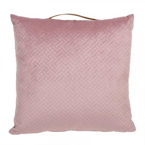 FYLLIANA 430-91-004  Μαξιλάρι Βελούδινο Ροζ 43 x 43