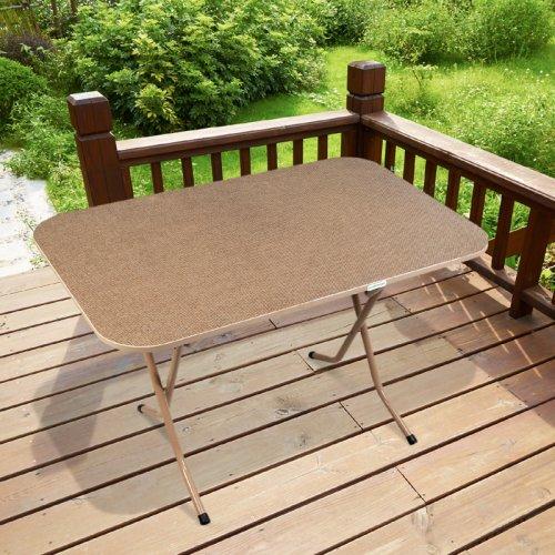 FYLLIANA 840-91-014 Τραπέζι Αναδιπλούμενο Καφέ 110x70x70εκ.