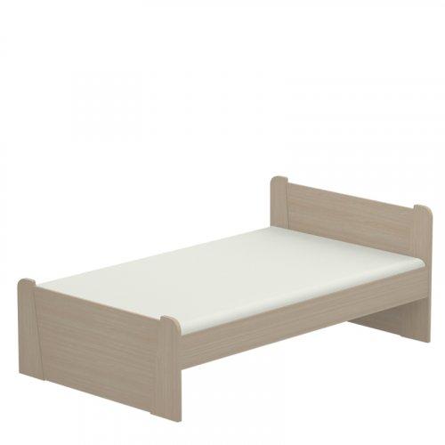 FYLLIANA 864-82-020 120 Κρεβάτι Beech 125 x 80 x 205 (120 x 200)εκ.