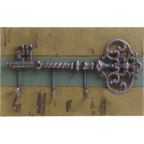 INART 3-70-798-0275 Κρεμάστρα Κλειδί Μεταλλική/Ξύλινη 30χ6,5χ18,5εκ.