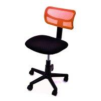 FYLLIANA 093-15-055 Καρέκλα Γραφείου χωρίς Μπράτσα Πορτοκαλί