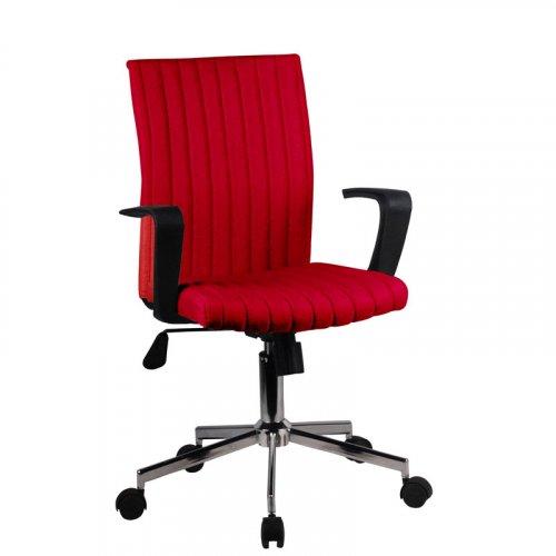 FYLLIANA 093-27-108 Καρέκλα Γραφείου 6910 Κόκκινη 57χ58χ90.5/99εκ.