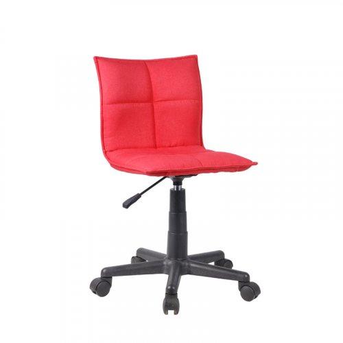 FYLLIANA 093-27-118 9102 F151-26 Καρέκλα Γραφείου Κόκκινη 38,5*51*72/83,5εκ.