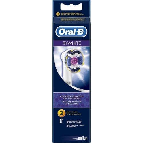 ORAL-B EB18 3D WHITE Ανταλλακτικό Οδοντόβουρτσας 2τμχ 101437