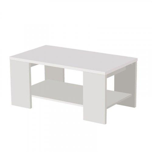 FORMA IDEALE 11007339 Τραπεζάκι Σαλονιού Union Λευκό 90.50χ50.50χ41.50εκ.