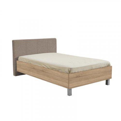 FORMA IDEALE 11007726 Κρεβάτι Castello 120 Sonoma-Latte Τεχνόδερμα 136.5χ211.5χ93.5 (120χ200)