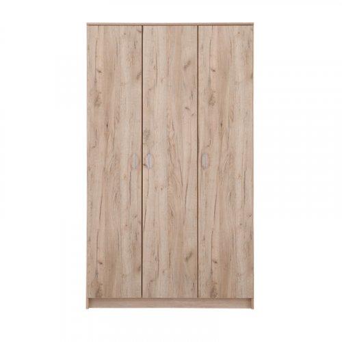 FYLLIANA 11009045 Ντουλάπα Hana 3K Grey Oak 0024581