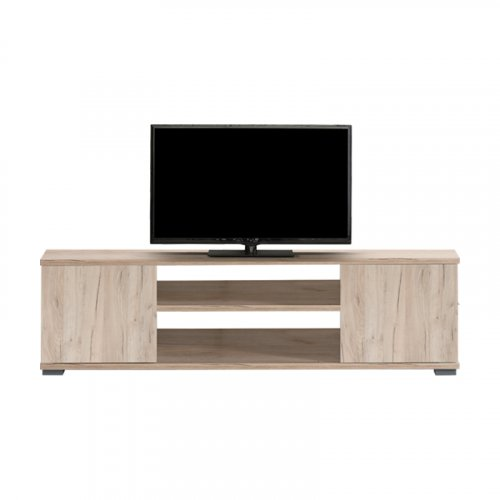 FORMA IDEALE 11009047 Επιπλό  Τηλεόρασης Bologna Grey Oak 120*40*34