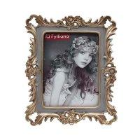 FYLLIANA 279-00-014  Κορνίζα Angel 20494 Γκρι - Χρυσό 13 x 18