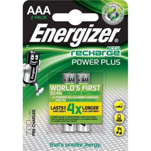 ENERGIZER AAA-HR03 700mAh Επαναφορτιζόμενες Μπαταρίες 2τεμ. (630696) 140161