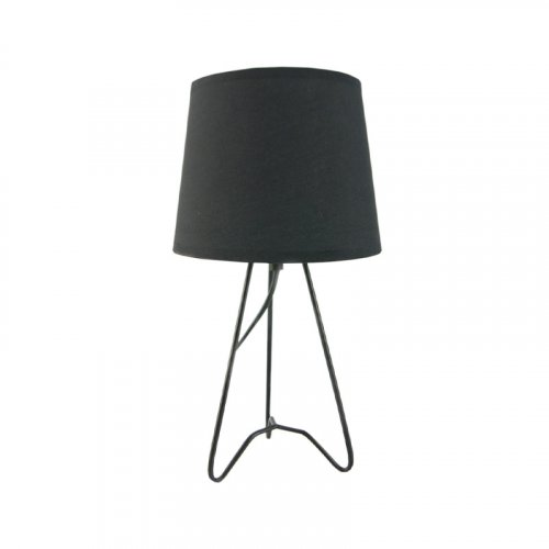 FYLLIANA 244-92-152 Επιτραπέζιο Φωτιστικό Μαύρη Μεταλλική Βάση+Μαύρο Καπέλο 171059 18χ33εκ 0019286