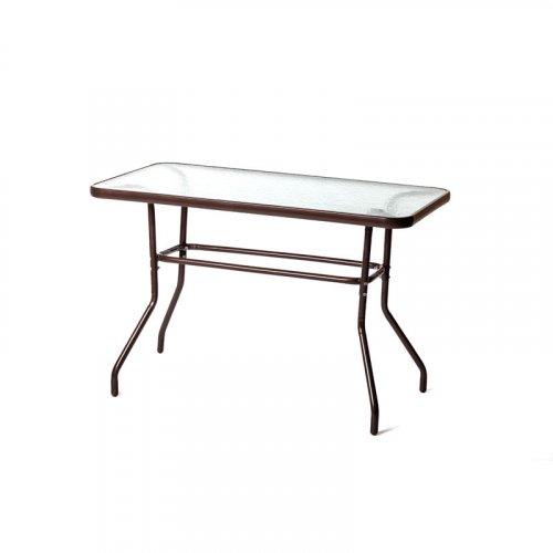 FYLLIANA 418-15-304 Τραπέζι Steel Καφέ 110 x 60
