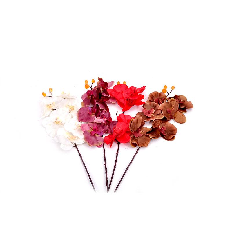 FYLLIANA 372-26-518 Λουλούδι Ορχιδέα  4 Χρώματα 70εκ 226-1