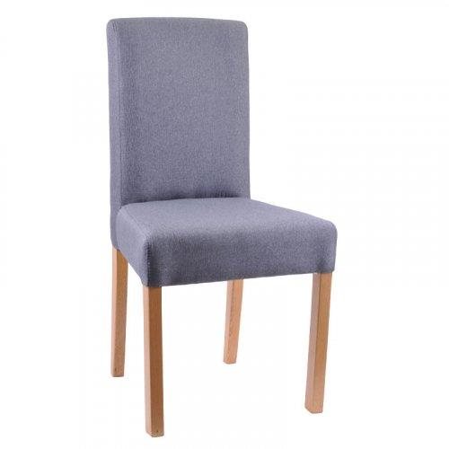 FYLLIANA 839-82-570 Καρέκλα Τραπεζαρίας Τ-11 Sawana Γκρι / Nature