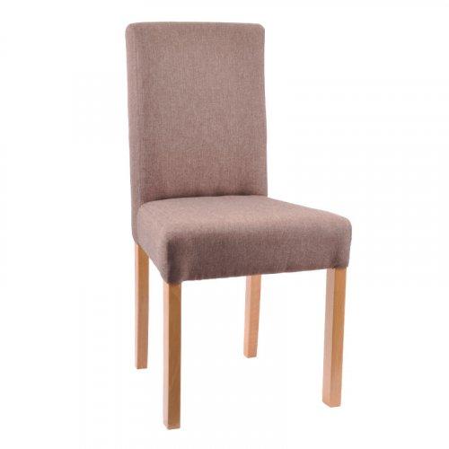 FYLLIANA 839-82-571 Καρέκλα Τραπεζαρίας Τ11 Sawana Καφέ/ Nature 0018611