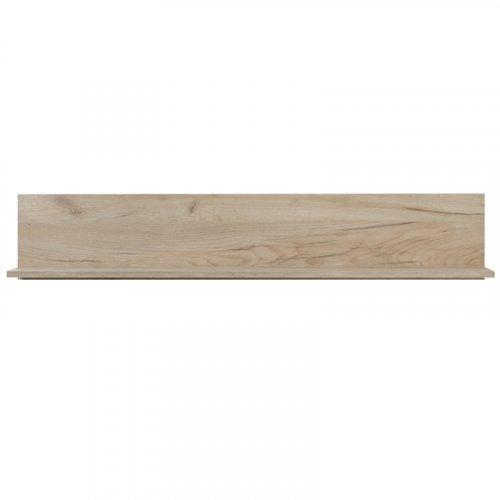 FORMA IDEALE 11006602 Ράφι Τοίχου Astor ZP Grey Oak 120χ19.5χ22